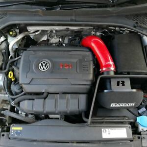 Red Ramair Air Filter Induction Intake Kit for Audi A3 2.0 TSI EA888 MQB