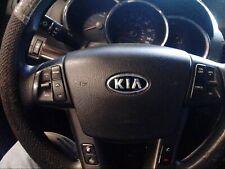 2011 - 2013 KIA SORENTO LEFT DRIVER STEERING WHEEL AIRBAG BLACK