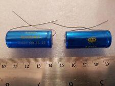 More details for job lot vintage erie / hunts 8uf 63v capacitor nos qty x 2