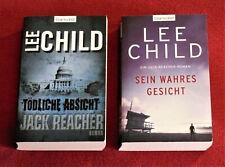 2 ST - Lee Chid-.Tödliche Absicht +Sein wahres Gesicht -Jack Reacher Roman TB