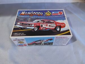 "Monogram ""The Mongoose"" Plymouth Duster Funny Car w/Rare Mouse Modifications!!!"