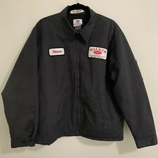 Walker Concrete Worker's Jacket Riverside Uniform Rentals Thinsulate Mens XL