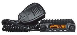 Albrecht AE 6110 Vox Mini CB-Funkgerät + KM 100 Magnetfussantenne