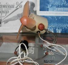 Rare Vintage Fan Cooling Air Circulator  DesktopTable/Wall Fan  USSR 1962 '