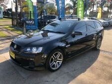 2011 Holden Commodore VE II SV6 Black Automatic A Wagon