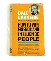 Dale Carnegie's How To Win Friends And Influence People Vintage 1967 MMPB