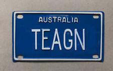 TEAGN Novelty Mini Number Plate
