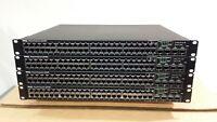 Dell PowerConnect 6248P Network Switch PoE 48-port RJ45 Gigabit + 4x SFP L3 1U
