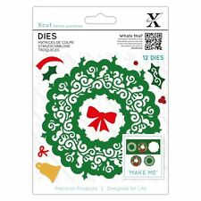 Xcut (Docrafts) Filigree Wreath Metal Die Set (12pcs) Paper Card Craft