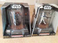 Star Wars Die Cast Titanium IG-88 and Clone Trooper
