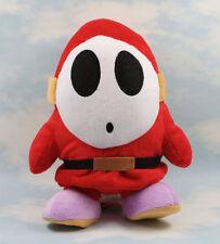 New Super Mario Bros 9'' Shy Guy Soft Plush Doll Figure Stuffed Toy Kids Gift