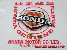 NOS Honda CUB50 65 70  C50 C65 C70 C90 EMBLEM FRONT COVER LEGSHIELD // GENUINE