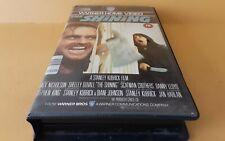 The Shining...Vintage Big Box Ex Rental VHS Cert 18