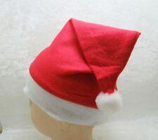 24X Red Merry Christmas Xmas Santa Claus Hat Cap-New