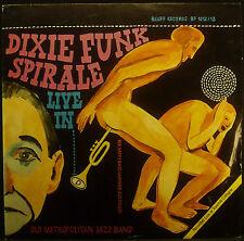 2erLP OLD METROPOLITAN JAZZ BAND - dixie funk spirale live, nm