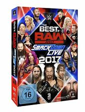 WWE The Best Of Raw And Smackdown 2017 [3x DVD] *NEU* DEUTSCH E VERKAUFSVERSION