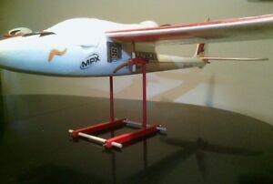 Einstellbare Schwerpunkt Waage für Flugmodelle, z.B. Kyosho, Multiplex, Cessna