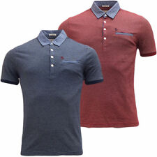 Original Penguin Men's Collared Short Sleeve Slim Casual Shirts & Tops