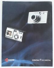 CONTAX TVS DIGITAL BROCHURE