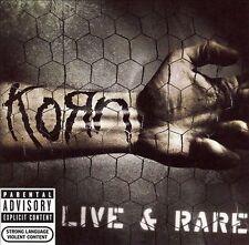 FREE US SHIP. on ANY 2 CDs! ~Used,VeryGood CD Korn: Live & Rare Explicit Lyrics