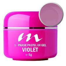 """m-Line UV-Gel COLOR PASTELL """"Violet"""" 5gr"""