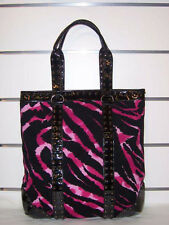 Betseyville Pink  North / South   Tote  Handbag  NWT  Cat's Meow Wild
