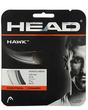 Corde Tennis HEAD Hawk 1.25 n.1 matassina 12m monofilamento grigio