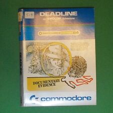 Commodore C64 - Disk - Infocom - Deadline, 1982
