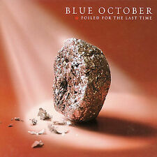 1 CENT 2CD Foiled for the Last Time - Blue October DIGIPAK
