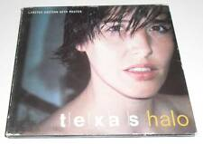 TEXAS - HALO - LIMITED EDITION 1997 UK CD SINGLE + POSTER IN DIGIPAK SLEEVE
