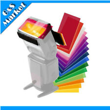 12 Colors Camera Color Gel Fliter Flash Speedlite Colour Correction Sheet