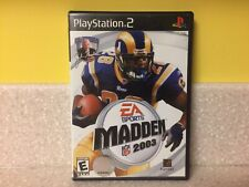 Madden NFL 2003 EA Sports Ps2 Playstation 2 Complete