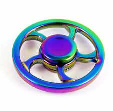 HOT Rainbow EDC Fidget Hand Spinner Torqbar Focus ADHD Autism Finger Toy Gyro