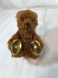 Carl Original Wind-Up Bear with Cymbals