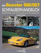 Porsche Boxster 986/987 Schrauberhandbuch 1996-2008 Hand-Buch book repair manual