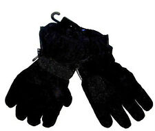 WATERPROOF BREATHABLE MOUNTAIN TREK GLOVES Mens Small Black Tough Windproof