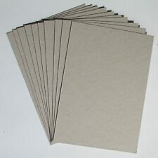 10 x A4 Sheets Grey Board 1mm 1000 micron Thick Project Craft Card