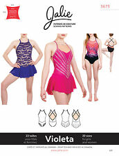 Jalie 3673 Violeta Open-Back V-Waist Leotard & Dress Sewing Pattern Women, Girls