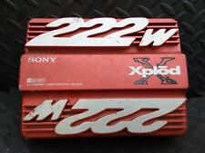 Sony Xplod Car Amp 222 Watts TESTED WORKING Stereo Amplifier Speaker Subs