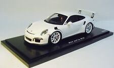 1:18 SPARK 2016 PORSCHE 911 (991) GT3 RS white showcase DEALER PROMO In Stock !!