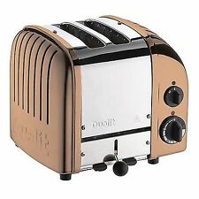 Dualit 27450 Classic Vario 2 Slot Durable Toaster Defrostproheat Elements Copper