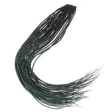24'' Synthetic Afro Box Braids Crochet Hair Extensions Color Two Strands Braids