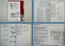 Case CS85 CS95 CS105 Pro Traktor Betriebsanleitung Bedienung 2011