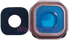 Lente Cámara Pink Cubierta Camera Lens Original Glass Samsung Galaxy A3 2016