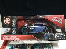 Jada Metal Works Disney Cars 3 Jackson Storm 1/24 Tire Rack