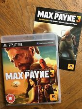 Max Payne 3 inc Silent Killer Loadout Pack (unsealed) - PS3 UK New!