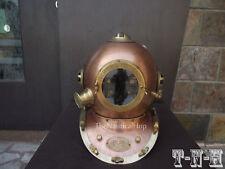 Antiguo Casco De Buceo EE. UU. Navy Ancla ingeniería casco para buzos Mar Profundo réplica