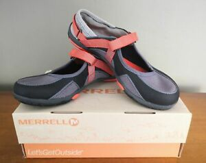 Women Merrell Barefoot River Glove Sneakers 8.5 Charcoal J89012