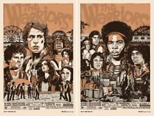 Tyler Stout - The Warriors (set of two,regular cut edition) - Mondo Poster/Print