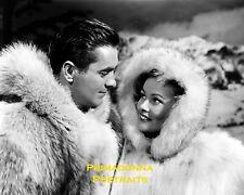 """GENE TIERNEY & TYRONE POWER 8X10 Lab Photo 1948 """"THAT WONDERFUL URGE"""" PORTRAIT"""